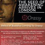 Buddhas Relics Inauguration Invite page 1