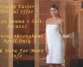Far Infrared Detox Sauna at Orassy